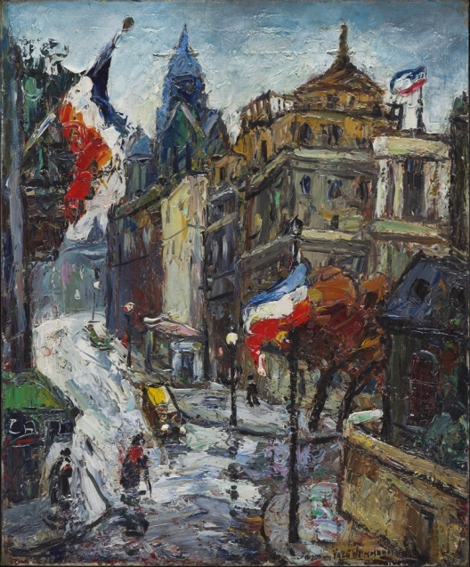 """""""Montmartre"""" von Maurice Vagh-Weinmann"""