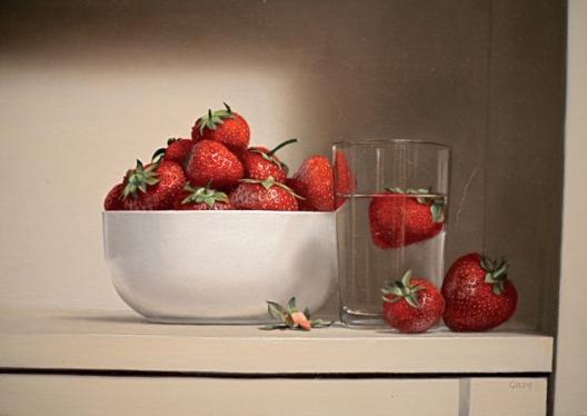 """""""Schale mit Erdbeeren"""" von Pierre Gilou"""